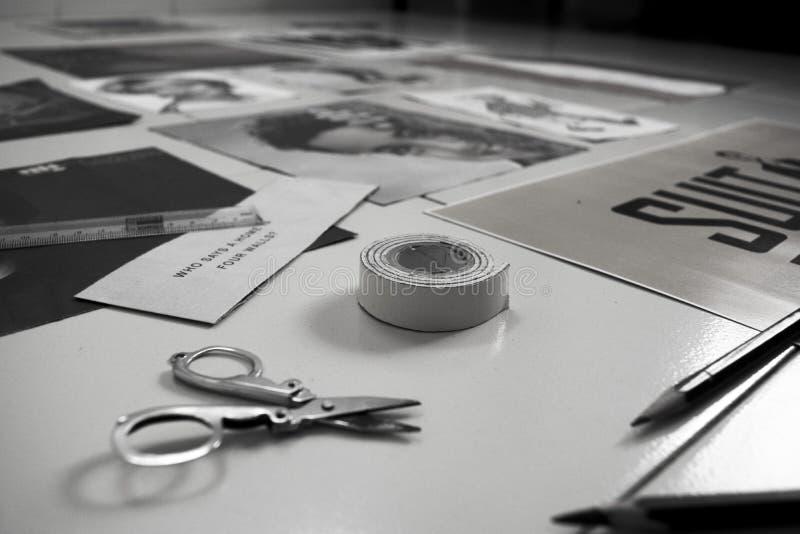 Kreative Wand-Dekor-Ideen stockfotografie