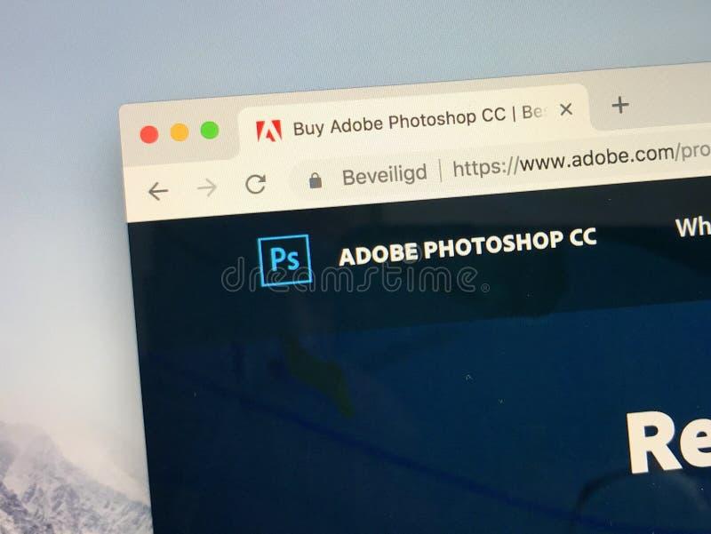 Kreative Wolke Adobes Photoshop stockfoto