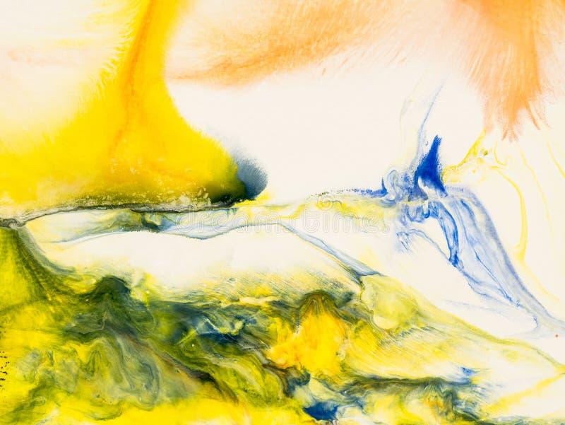 Kreativer abstrakter handgemalter Hintergrund vektor abbildung