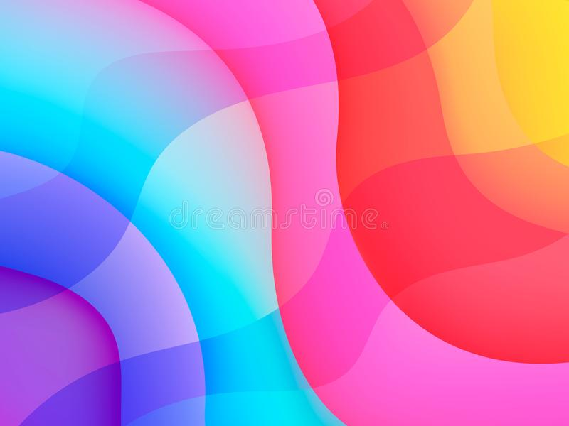 Kreativer Designhintergrund vektor abbildung