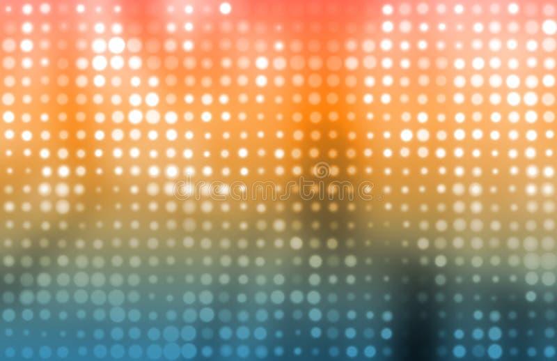 Kreativer Fahnen-Auszugs-Hintergrund lizenzfreie abbildung