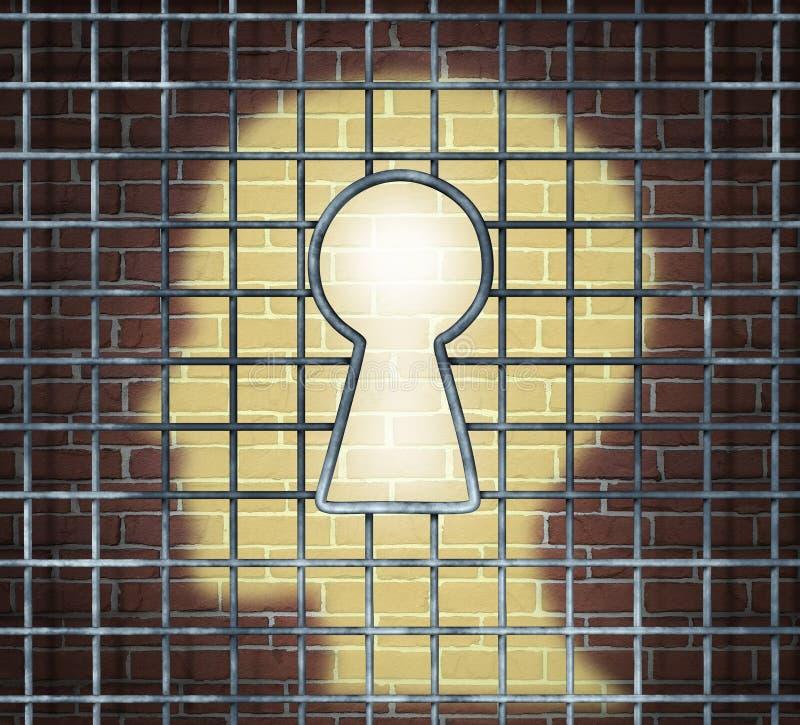 Kreativer Freiheits-Schlüssel vektor abbildung