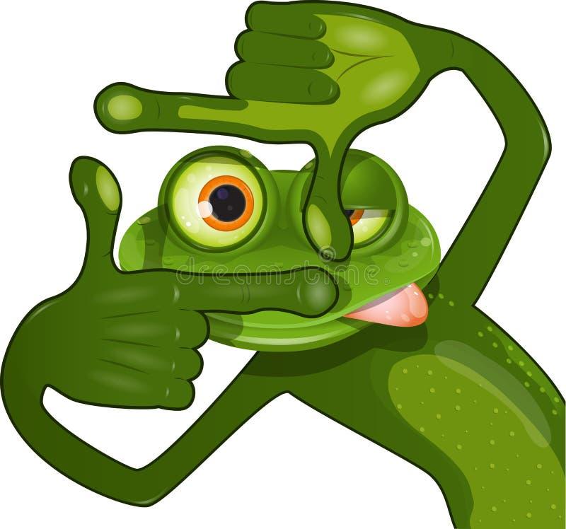 Kreativer Frosch