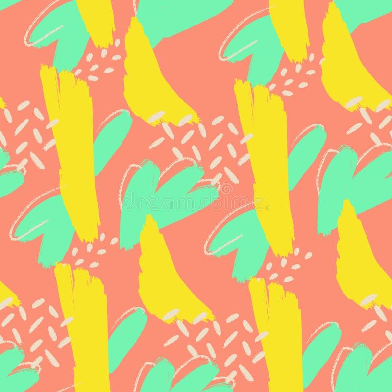Kreativer Gekritzelkunsttitel mit verschiedenen Formen und Beschaffenheiten collage lizenzfreies stockbild