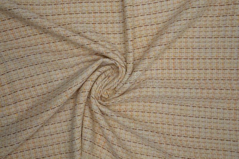 Kreatives altes Gewebe mit Textilbeschaffenheitshintergrund lizenzfreie stockfotografie