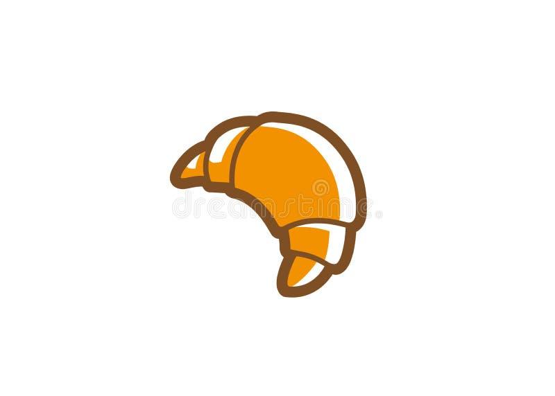 Kreatives Hörnchen Logo Vector lizenzfreie abbildung