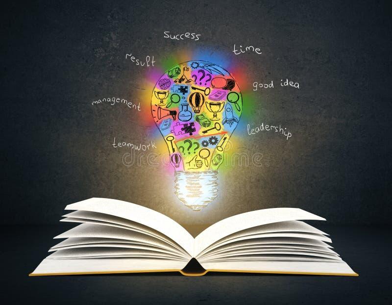 Kreatives Ideen-Konzept vektor abbildung
