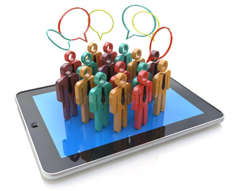 Kreatives Social Media, Internet-Kommunikation und Geschäft marke stockbilder