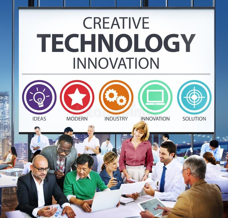 Kreatives Technologie-Innovations-Medien-Digital-Konzept lizenzfreies stockfoto