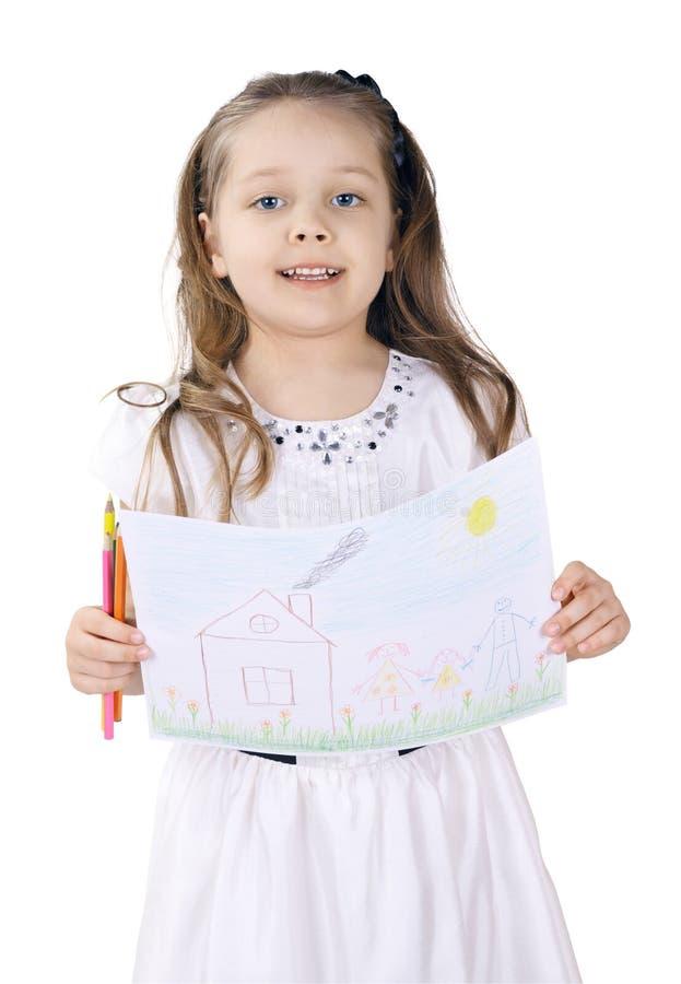 Kreativität der Kinder stockbilder