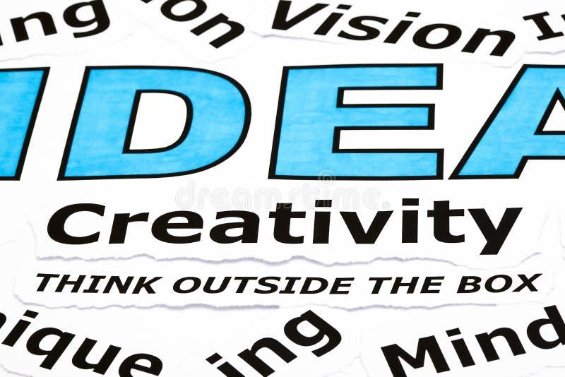 Kreativität-Konzept lizenzfreies stockfoto