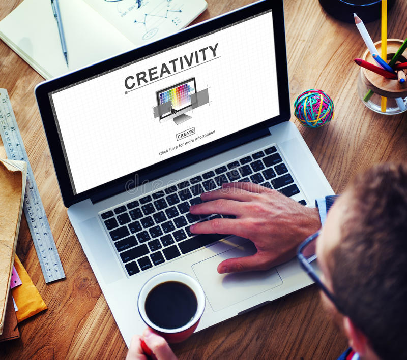 Kreativitäts-Fähigkeits-Ideen-Fantasie-Innovations-Konzept lizenzfreie stockfotos