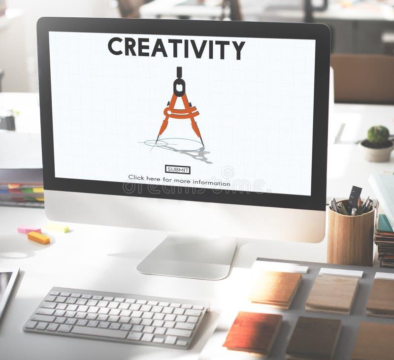 Kreativitetambitioninspiration inspirerar expertisbegrepp fotografering för bildbyråer