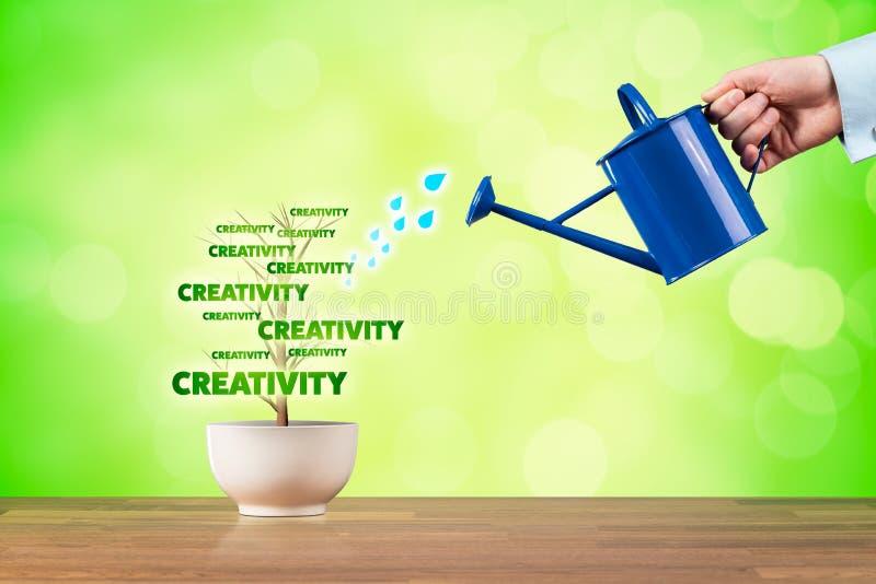 Kreativitettillväxt arkivfoto