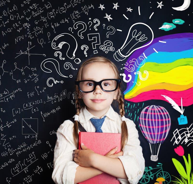 Kreativitetutbildning, nya idéer och högra och vänstra halvklot royaltyfri fotografi