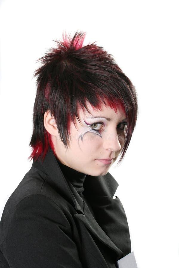 kreatywne fryzurę zdjęcie royalty free