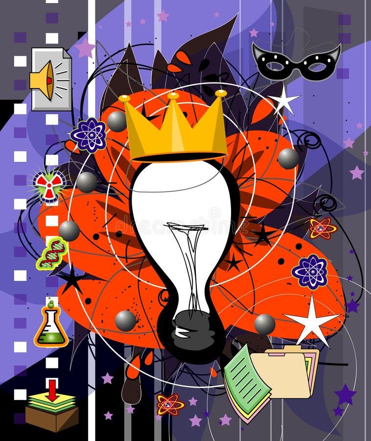 kreatywnie royalty ilustracja