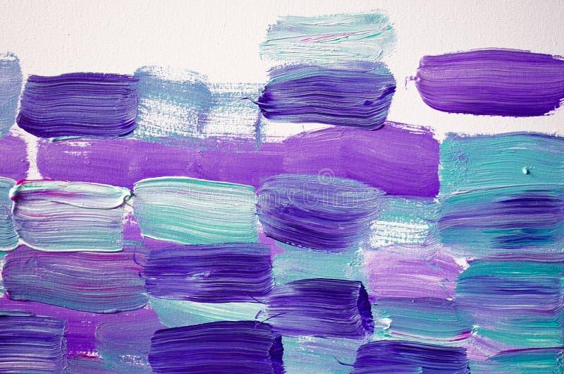 Kreatywnie abstrakcjonistyczna ręka malował tło, tapeta, tekstura Abstrakcjonistyczny skład dla projektów elementów Zakończenie c royalty ilustracja