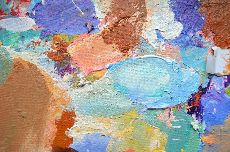 Kreatywnie abstrakcjonistyczna ręka malował tło, tapeta, tekstura Abstrakcjonistyczny skład dla projektów elementów Zakończenie c fotografia stock