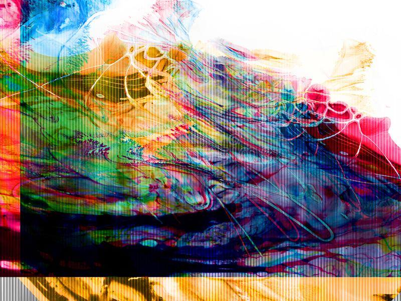 Kreatywnie abstrakcjonistyczna ręka malował tło, tapeta, tekstura, c royalty ilustracja