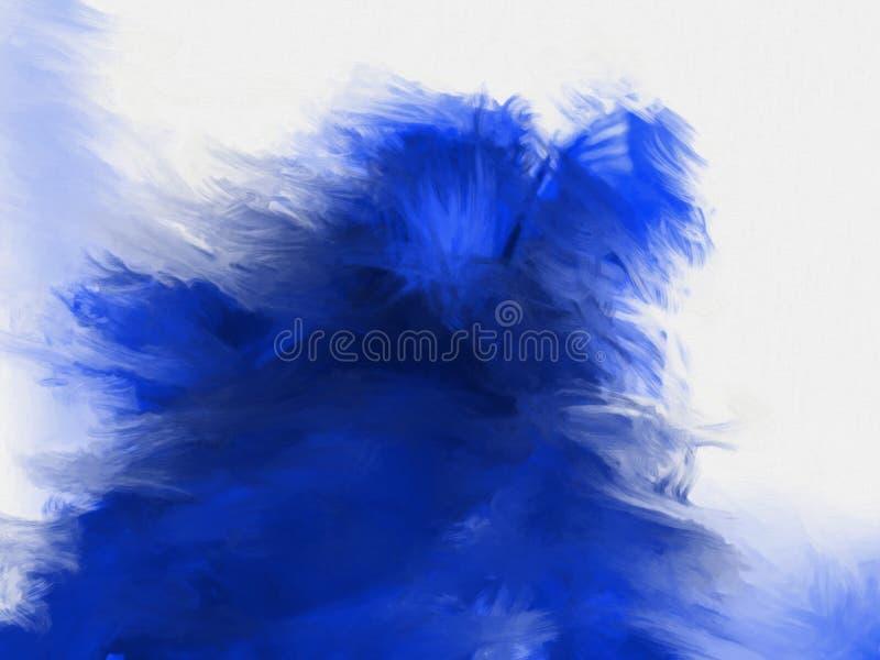 Kreatywnie abstrakcjonistyczna ręka malował tło, tapeta, tekstura, c ilustracja wektor