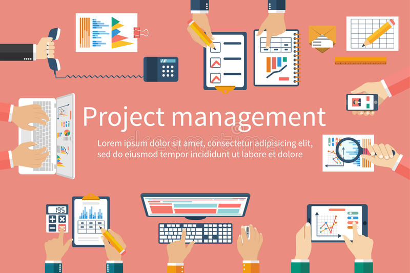 Kreatywnie drużyna, wektor Biznesowy spotkanie, praca zespołowa, brainstorming royalty ilustracja