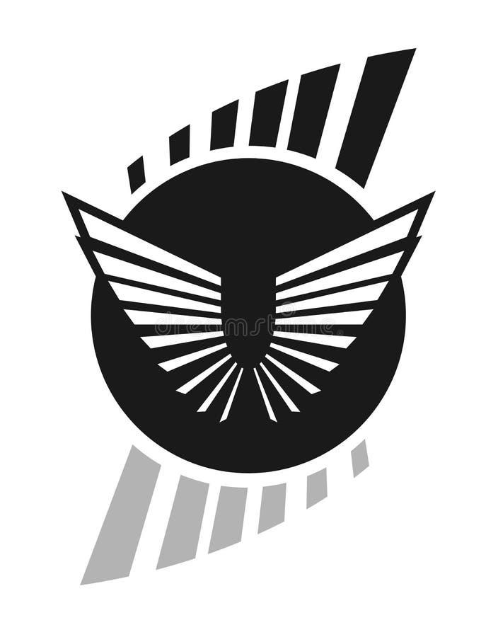 kreatywnie elegancki symbol royalty ilustracja