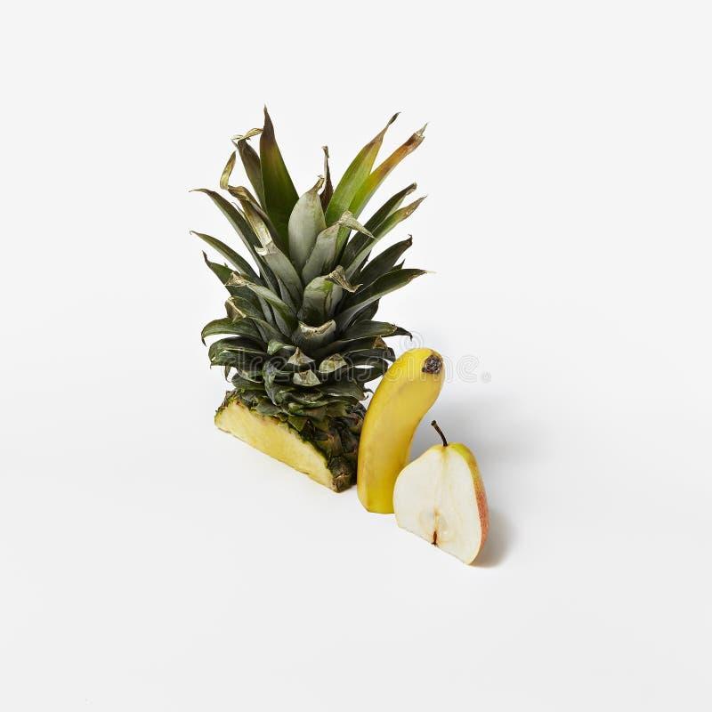 Kreatywnie Makro- fotografia Zdrowi Świeżej owoc śniadania składniki fotografia royalty free
