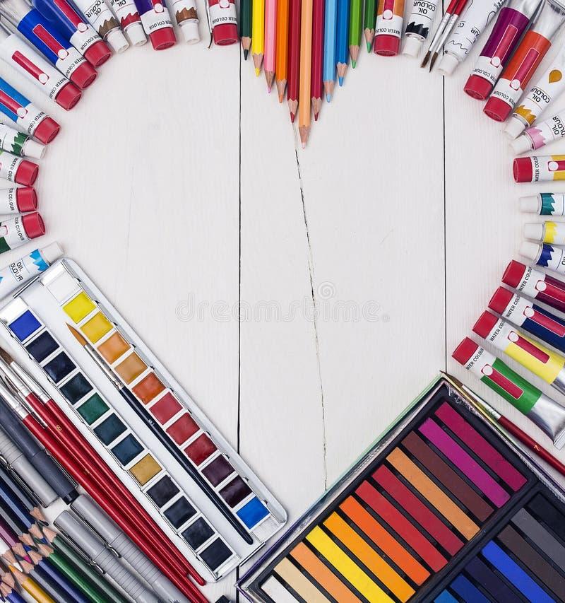 Kreatywnie miłości sztuka zdjęcia royalty free