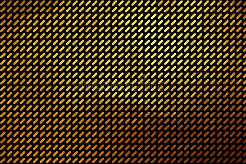 Kreatywnie nowożytny cyfrowy luksusowy błyszczący złoty tekstura wzoru abstrakta tło ilustracja wektor