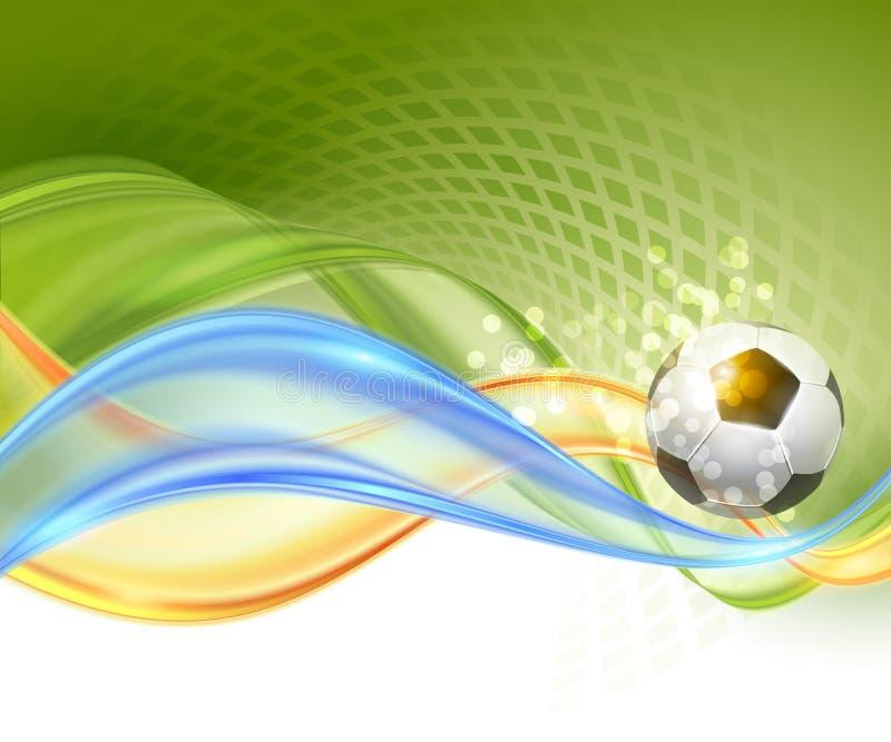 Kreatywnie piłki nożnej Wektorowy projekt ilustracji