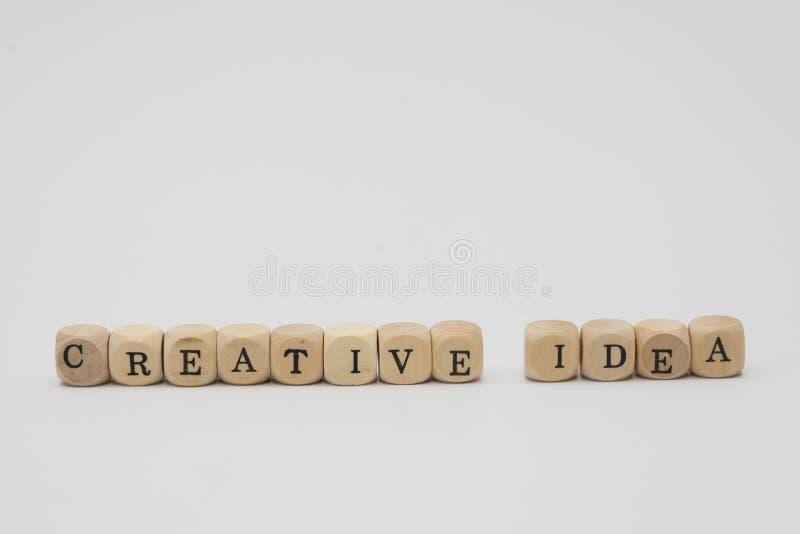 kreatywnie pomysł fotografia stock