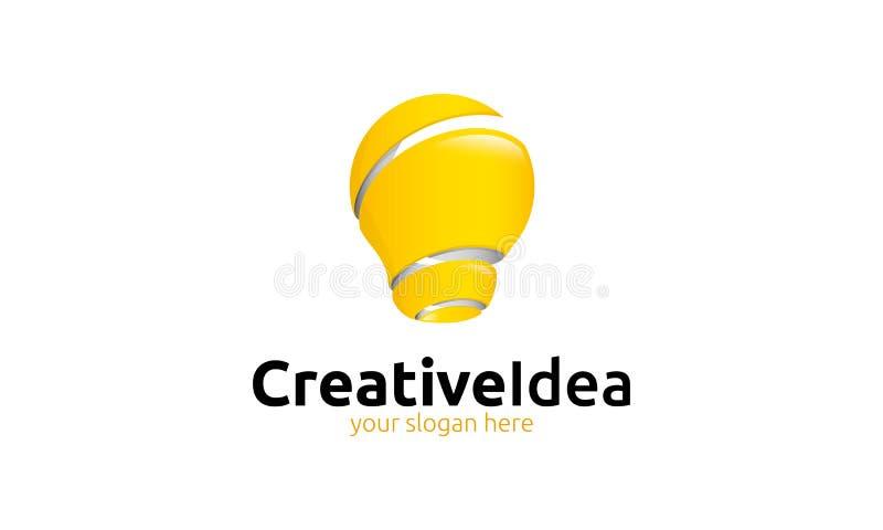 Kreatywnie pomysłu logo royalty ilustracja