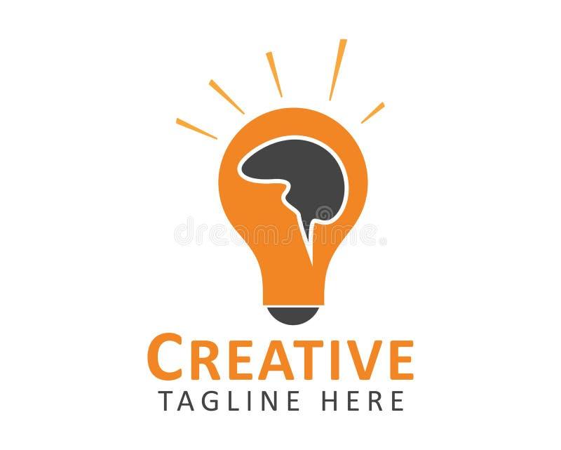 Kreatywnie pomys?u logo ilustracja wektor