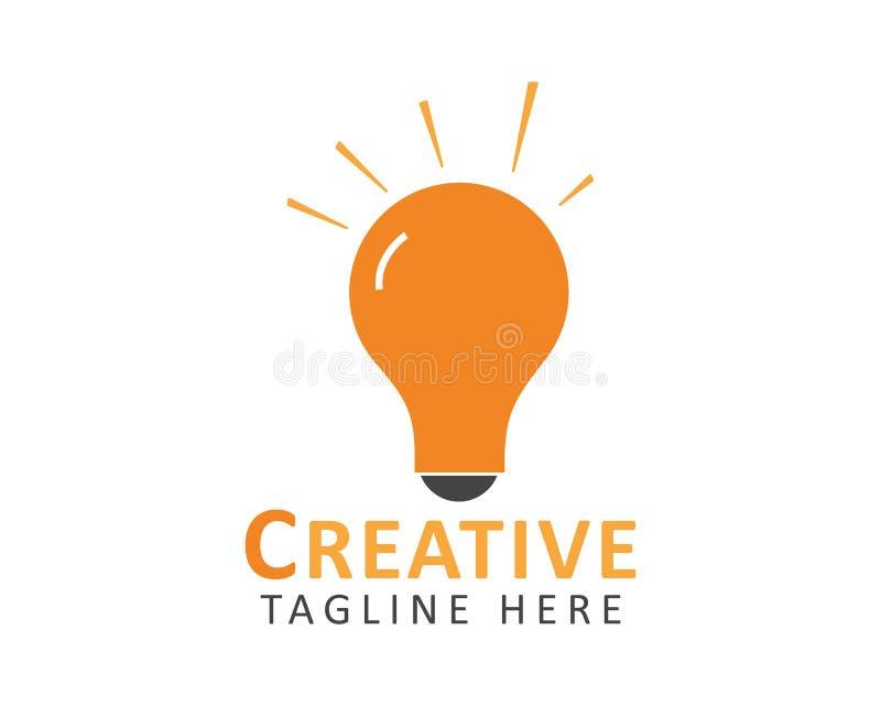 Kreatywnie pomys?u logo royalty ilustracja