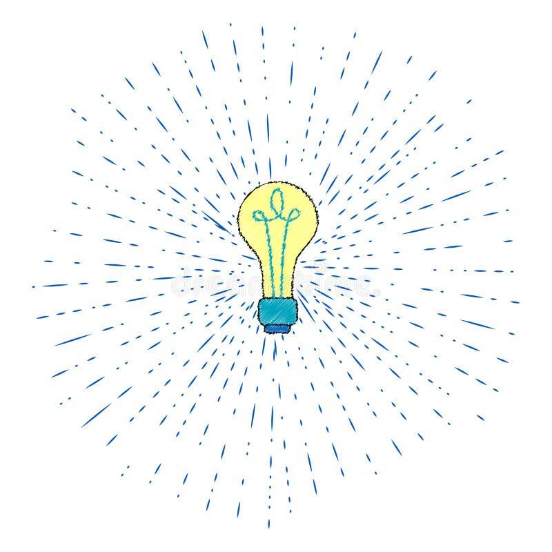 Kreatywnie pomys? w ?ar?wka kszta?cie jako inspiraci poj?cie element P?aska ikona ilustracji