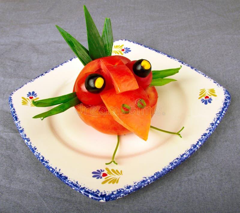 kreatywnie sałatkowy warzywo obrazy royalty free
