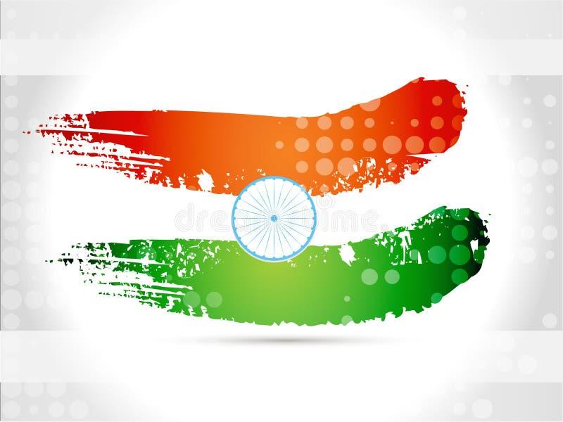 Kreatywnie textured wektorowa ilustracja indianin tr ilustracja wektor