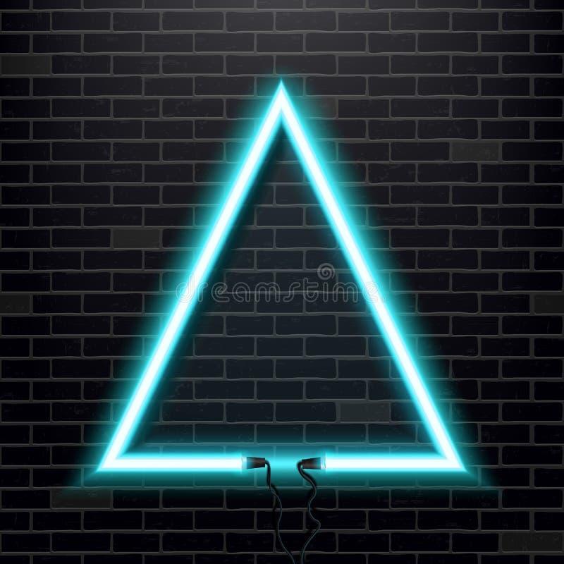 Kreatywnie wektorowa ilustracja neonowej lampy znak Sztuka projekta żarówki odosobniony sztandar Abstrakcjonistyczny pojęcie graf ilustracji