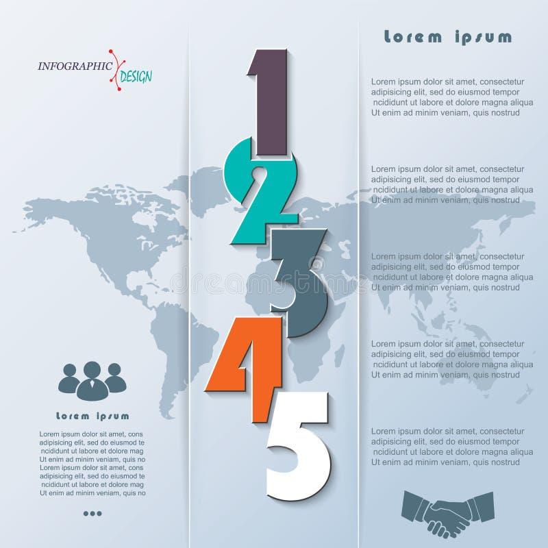 Kreatywnie wektorowy infographic może używać dla edukacja procesu ilustracji