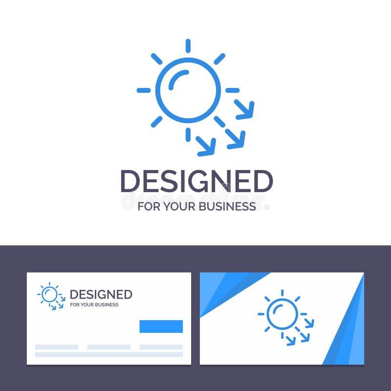 Kreatywnie wizytówki i logo szablonu dermatologia, Sucha skóra, skóra, skóry opieki wektoru ilustracja ilustracji