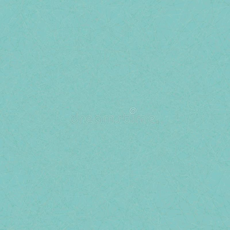Kreatywnie zagracenie wzór w niebieskozielonych kolorach ilustracja wektor
