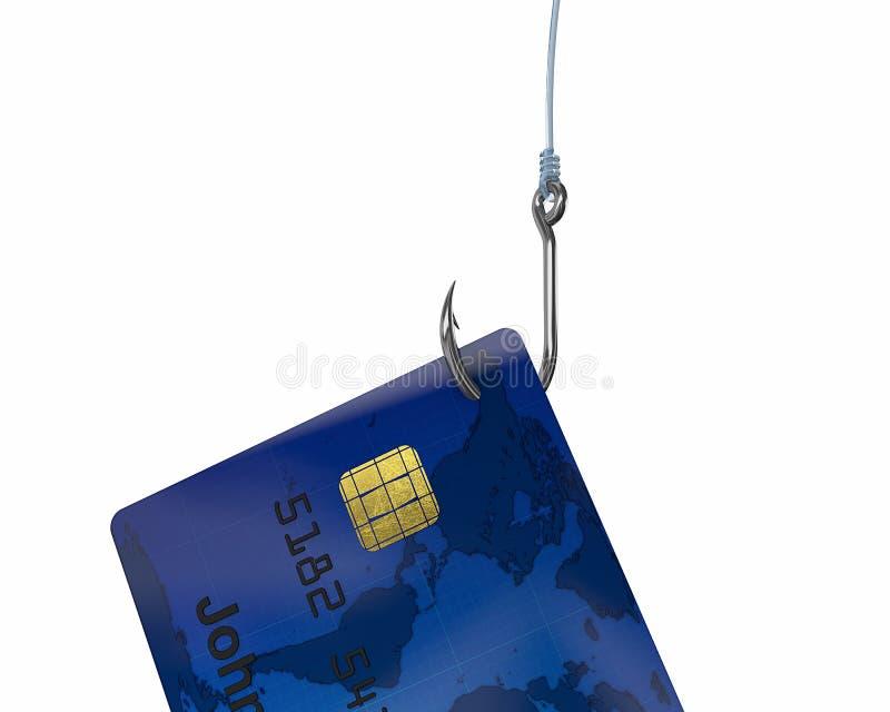 Kredit-Haken lizenzfreie abbildung