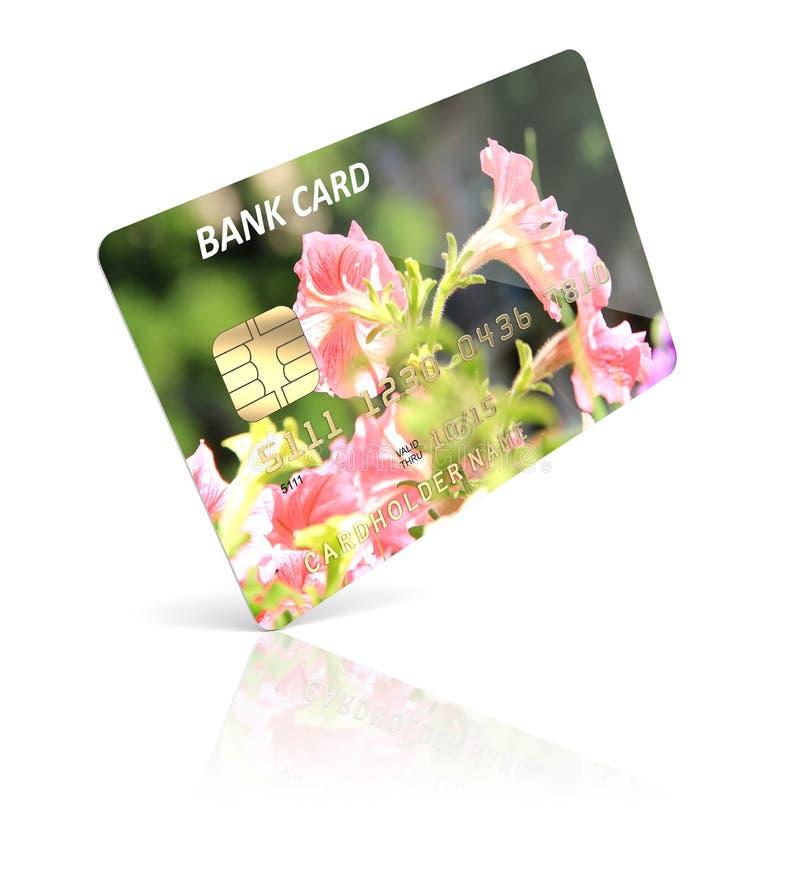 Kreditkort royaltyfri illustrationer