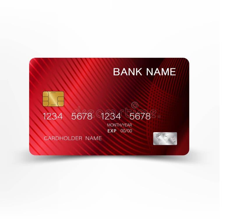 Kreditering card607 royaltyfri illustrationer