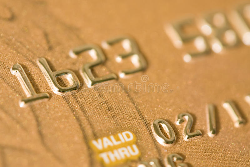 Kreditkarte stockbilder
