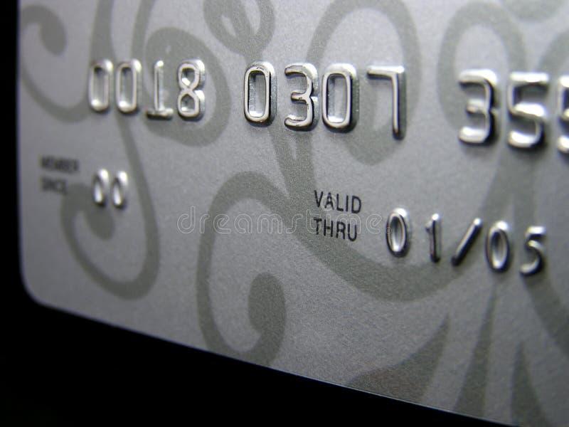 Kreditkarte (Nahaufnahme) lizenzfreie stockbilder