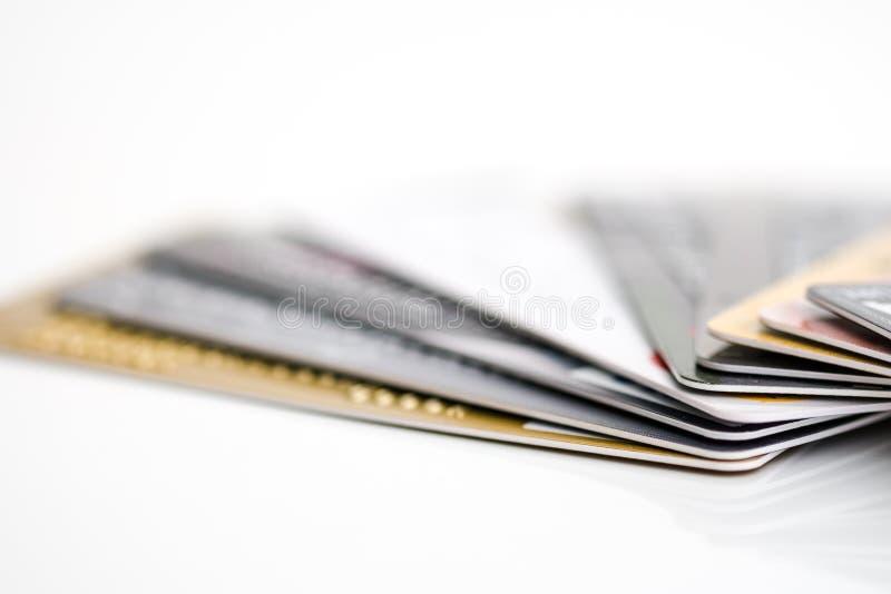 Kreditkarte s stockbild