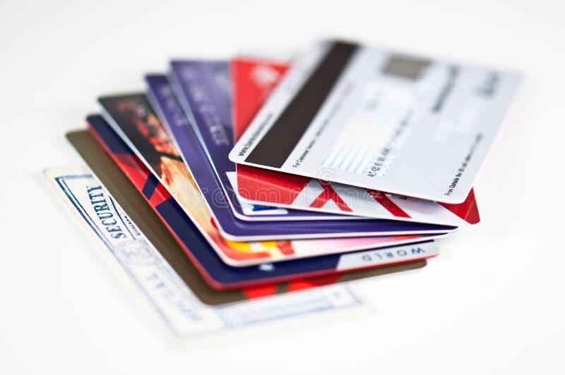 Kreditkarte-Sicherheit stockfoto
