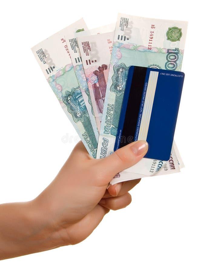 Download Kreditkarte Und Bezeichnungen In Einer Weiblichen Hand Stockbild - Bild von bargeld, spend: 9093641